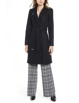Belted Wrap Coat by Ted Baker London