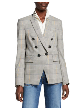 Miller Glen Check Dickey Jacket by Veronica Beard