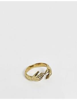 Reclaimed Vintage – Vintageinspirerad Ring I Guldton, Endast Hos Asos by Reclaimed Vintage Inspired