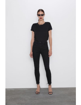 Jeans Zw Premium Taille Haute Revolve Black Taille Haute Jeans by Zara