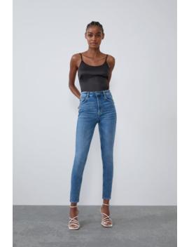 Jean Vintage Taille Haute Jeans by Zara
