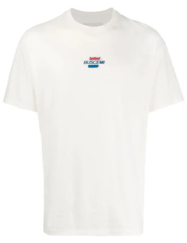 Loose Fit Logo Patch T Shirt by Buscemi