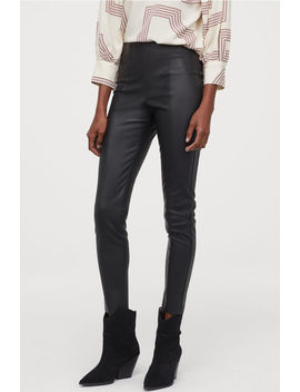 Leggings With Creases by H&M