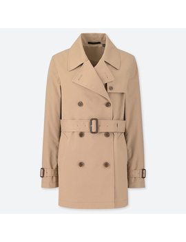 Trench Court Femme by Uniqlo