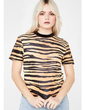 Easy Tiger Tee by Lazy Oaf