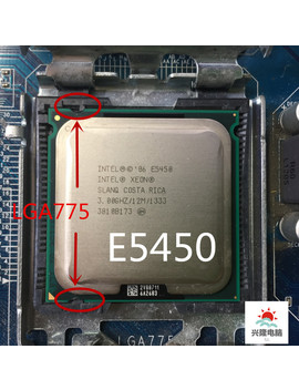 E5450 E5450 Intel Xeon Slanq Or Slbbm Quad Core 3.0 G Hz 12 Mb 1333 M Hz Socket 775 Works On Lga 775 Mainboard No Need Adapter by Ali Express.Com