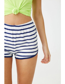 Striped Dolphin Shorts by Forever 21