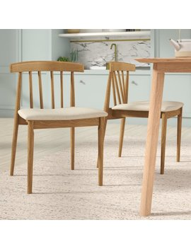 Apollonia Solid Wood Dining Chair by George Oliver