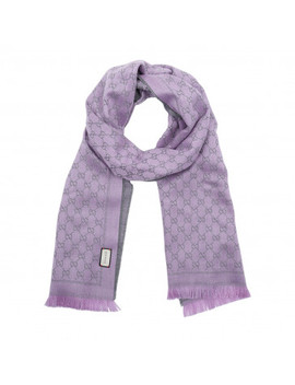 New Sten Scarf Purple by Gucci