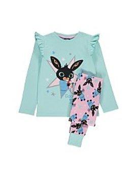 Bing Goodnight Slogan Pyjamas by Asda
