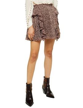 Leo Ruffle Miniskirt by Topshop