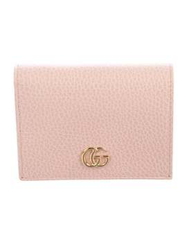Gg Marmont Leather Card Case by Gucci
