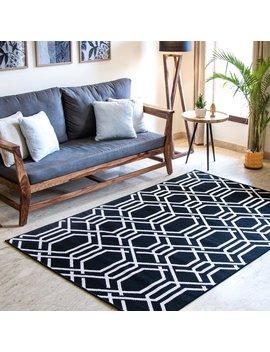 Bissonnette Black Indoor/Outdoor Area Rug by Astoria Grand
