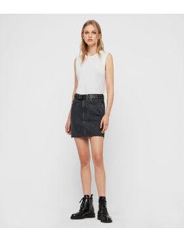Lila Leo Denim Skirt by Allsaints