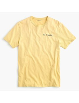 "Tall Slub Cotton T Shirt In ""El Capitan"" Graphic by J.Crew"