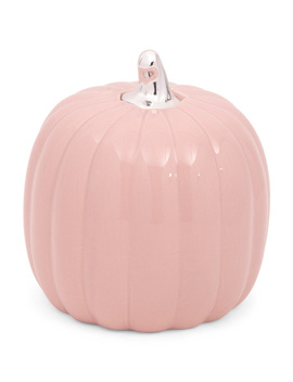 Glazed Ceramic Pumpkin by Tj Maxx
