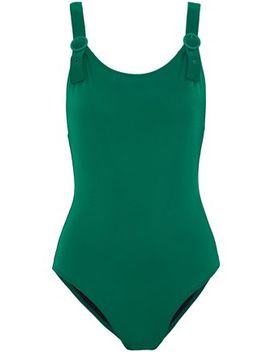 The Lucy Buckle Detailed Swimsuit by Solid & Striped