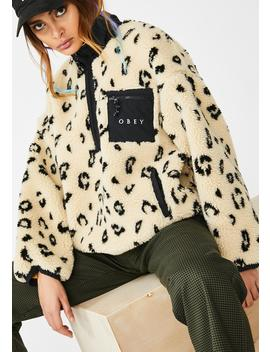 Chiller Sherpa Anorak by Obey