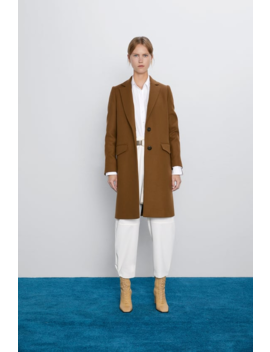 Menswear Coat New Inwoman by Zara