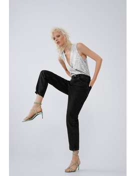 Sequinned Bodysuit View All T Shirts Trf by Zara