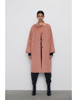 Buttoned Coat New Inwoman by Zara