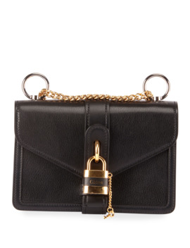 Aby Chain Leather Shoulder Bag by Chloe