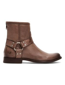 Phillip Harness Leather Boots by Frye