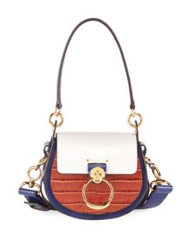 Tess Small Mixed Media Crossbody Bag by Chloe