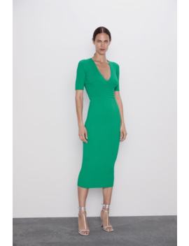 Ribbed Tube Dress View All Knitwear Woman by Zara