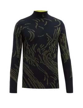 Nyas Abstract Jacquard Sweater by Namacheko
