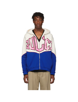 White 'gucci' Hoodie by Gucci