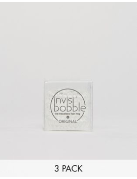 Invisibobble – Original Hair Tie – Crystal Clear – Hårsnodd by Invisibobbles