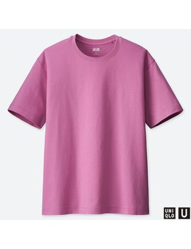 T Shirt Uniqlo U Relax Maniche Corte Donna by Uniqlo