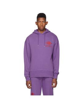 Purple Bulky Hoodie by Han Kjobenhavn