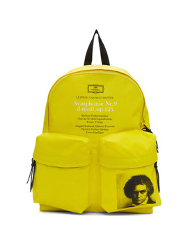 Yellow Beethoven Backpack by Undercover