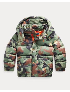 Bear Camo Down Jacket by Ralph Lauren