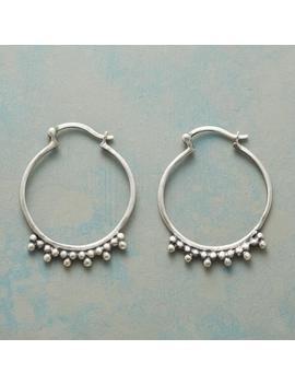 Tenacity Hoop Earrings by Sundance
