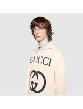 Hooded Sweatshirt With InterlockingG by Gucci