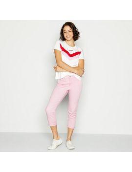 Light Pink Shaping '311' Skinny Capri Jeans by Levi's