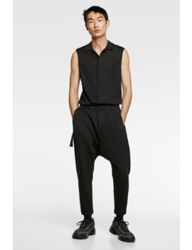 Baggy Jumpsuit  View All Trousers Man by Zara