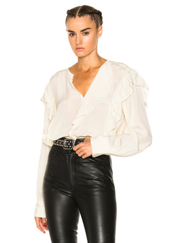 Welby City Flou Ruffled Blouse by Isabel Marant Etoile