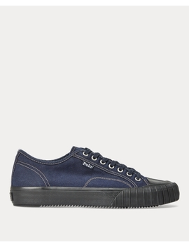 Xander Canvas Low Top Sneaker by Ralph Lauren