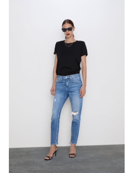 Zw Premium Slim Boyfriend Jeans View All Jeans Woman by Zara