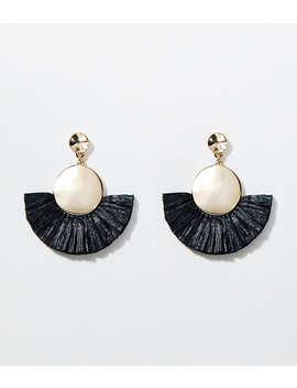 Fringe Drop Earrings by Loft