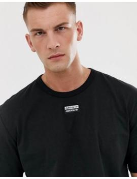 Adidas Originals – Ryv – Schwarzes T Shirt Mit Mittigem Logo by Asos