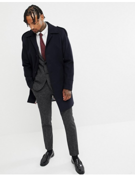 Gianni Feraud Premium Wool Blend Raglan Trench by Coat