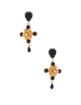 Cross Earrings by Dolce & Gabbana