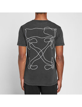 Off White Abstract Arrows Tee by Off White