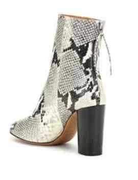 Garrett Leather Ankle Boots by Isabel Marant