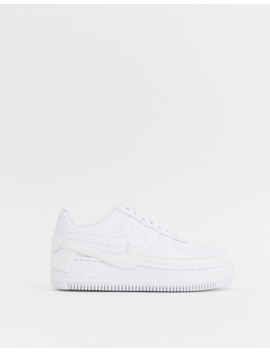 Nike Air Force 1 Jester Sneakers In Triple White by Nike